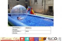 Water ball + piscina