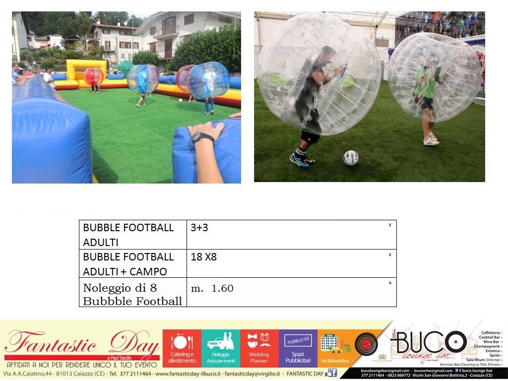 Bubble Football adulti CON E SENZA CAMPO - Copia