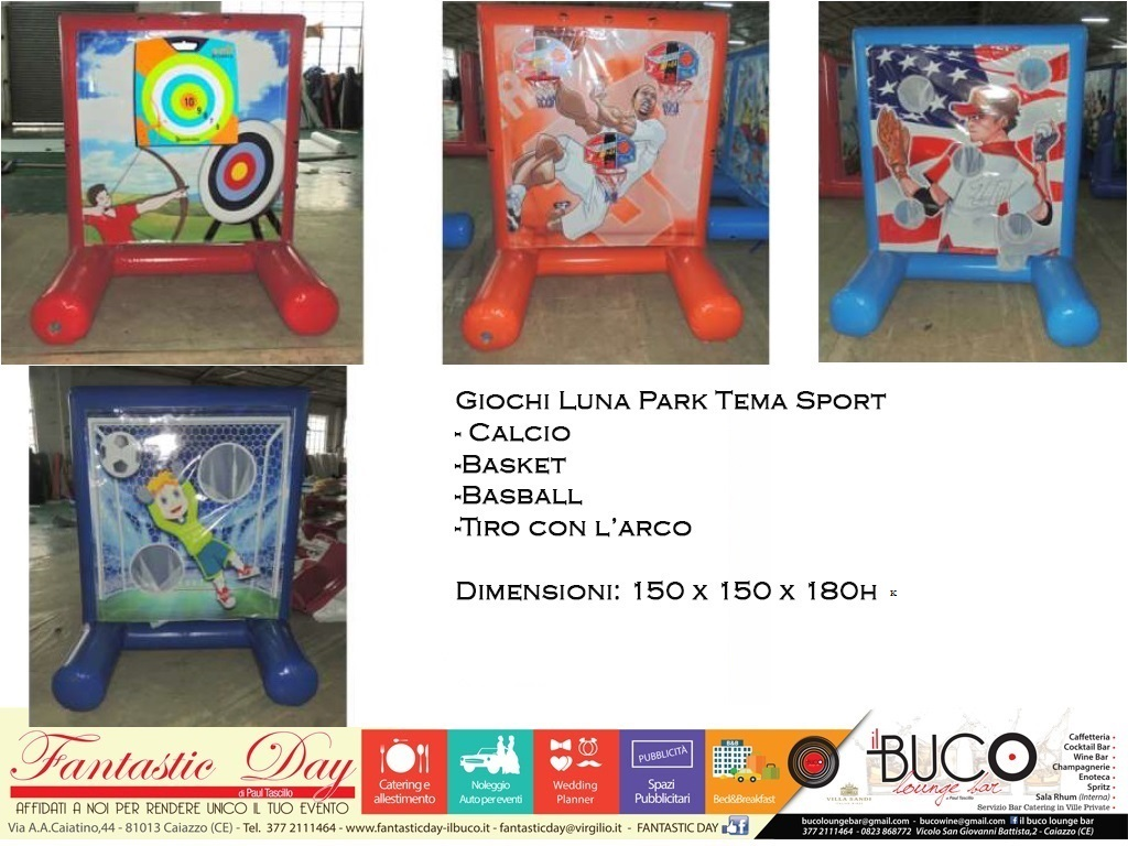 Luna Park tema sport