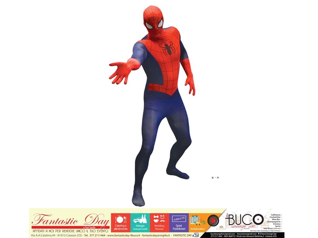 Vestito spiderman