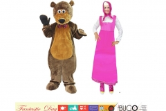 Mascia e orso v+m
