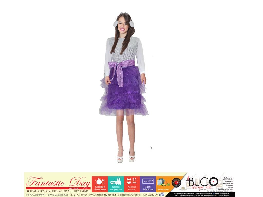 vestito violetta